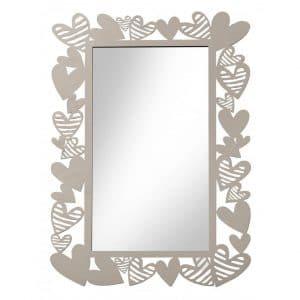 Brandani - Specchio Batticuore in metallo
