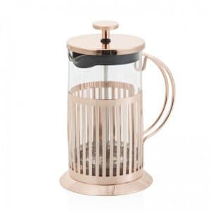 Brandani Tisaniera 800 ml Vetro e Metal Rose Gold