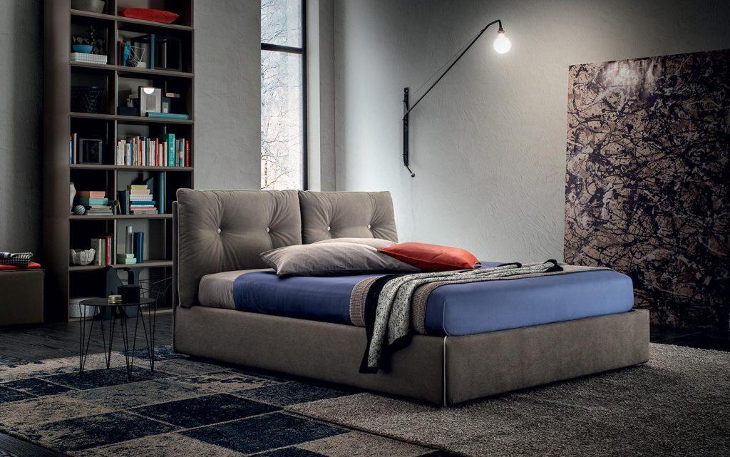 Letto Felis Scotty, Living Box : Negozio di materassi, Rivenditore autorizzato magniflex a Bergamo, negozio di articoli per la casa