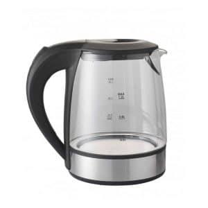 Brandani - Bollitore elettrico techno collection 1,2 LT in acciaio Inox vetro e plastica PP