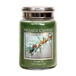 Village Candle - Frozen Fir